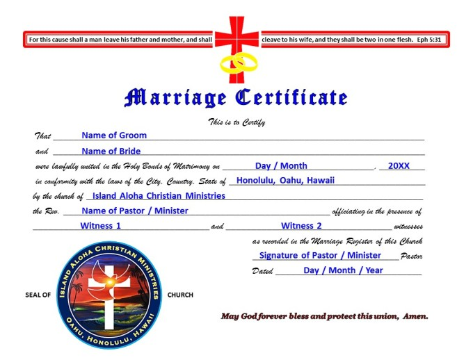 IACM Marriage Certificate - Certificates Final