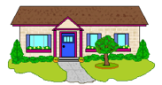 Small Home - Clipart